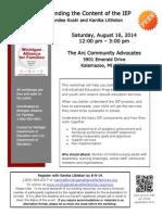 IEP 2014-08-16 Kalamazoo