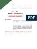 O Que é o Sistema Price