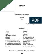 125073597 Lucian Blaga Mesterul Manole PDF