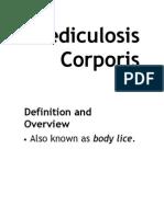 Pediculosis Corporis