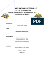 Universidad Nacioal de Trujillo - Prospeccion