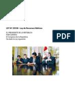 Ley de Recursos Hidricos 2009.pdf
