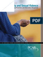 Poverty & Sexual Violence. Building Prevention & Intervention Responses.2007