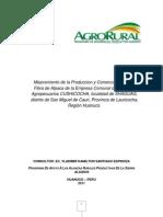Proyecto Alpacas - Huanuco