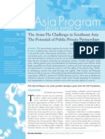The Avian Flu Challenge in Southeast Asia