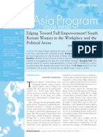 Edging Toward Full Empowerment? South Korean Women in the Workplace and the Political Arena