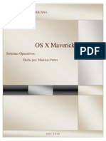 Trabajo OS X Mavericks