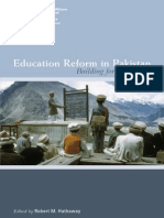 Education Reform in Pakistan