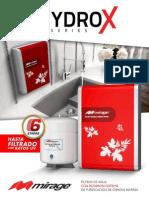 Ficha Técnica Filtros Hidrox 2013