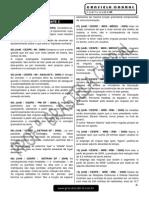 Pontuação Curso de Exercicios - Modulo 04 (Arquivo CEX 04)