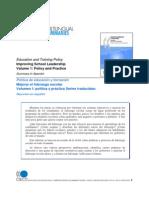 OECD Mejorando El Liderazgo Directivo Resumen 2008