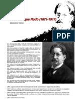 José Enrique Rodó (1871-1917)