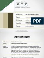 Aula 01-02-03 Apresentação - Revisão - Uml - Diagrama de Sequencia