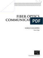 Harold Kolimbiris Fiber Optics Comunication