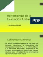 Herramientas de La Evaluación Ambiental
