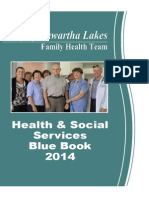 City of Kawartha Lakes Family Health Team - Blue Book of Health and Social Services - July 2014