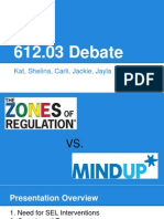 mindup vs zones debate