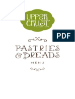 Upper Crust Menu - Pastries