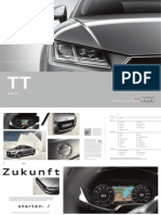 Audi TT Catalogue (Mk3, German Market)