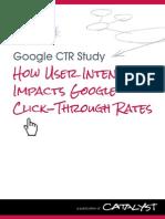 Google CTR Study - Catalyst