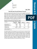 July 2014 Economic Update