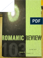 Romanic Review - Examining Heretical Thought