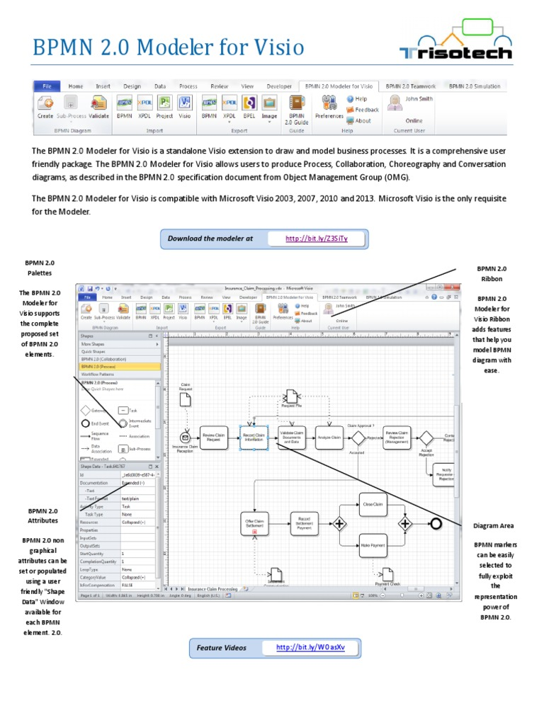 Bpmn 20 modeler for visio documentation button computing bpmn 20 modeler for visio documentation button computing simulation ccuart Image collections