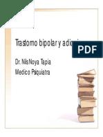 Bipolaridad y Adicciones