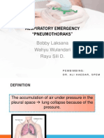 Pulmonary Emergency