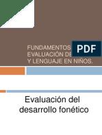 Clase 05 - Fundamentod de La Evaluación Del Habla y Lenguaje en Niños