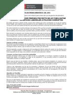 MINISTRO DEL INTERIOR PREPARA PROYECTO DE LEY PARA QUITAR PENSIÓN Y BENEFICIOS LABORALES A POLICÍAS CORRUPTOS