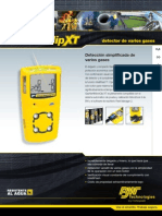 GasAlertMicroClip XT Datasheet(6653 3 ES)