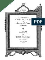 Album of bass songs