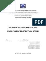 Asociaciones Cooperativas y Empresas de Produccion Social