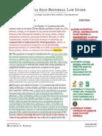 California Physician Self-Referral Law Guide (2014)