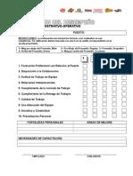 Evaluación Personal Admonoperativo 2009