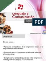 Clase 01 La Comprensión de Lectura y La PSU de Lenguaje y Comunicación (Pmf) (1)