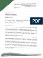 Response by Magnolia Public Schools to LAUSD July 3, 2014