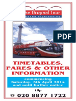 Timetables 2014