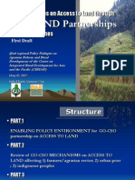 Presentation - Bridging Issues on Access to Land Partnerships in the Philippines