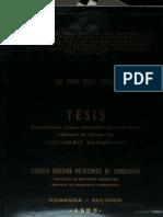 Tesis Evaluacion Preliminar Del Modelo WEPP