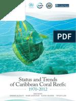 Caribbean Coral Reefs Status Report 1970 2012