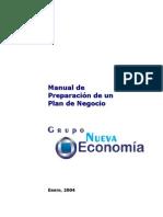Manual de Preparación de Un Plan de Negocio