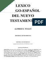 Lexico Griego Español Del Nuevo Testamento - Alfred Tuggy