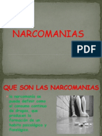 NARCOMANIAS