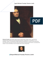 Biografi Michael Faraday Penemu Listrik _ DUNIA LISTRIK
