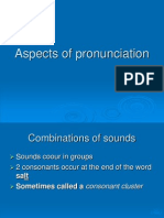 Aspects of Pronunciation