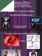Desarrollo Sexual e Intersexualidad