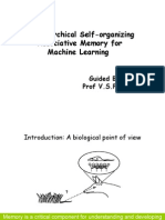 A Hierarchical Self-organizing Associative Memory for