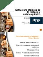 Estructura Atomica de La Materia y Enlace Quimico